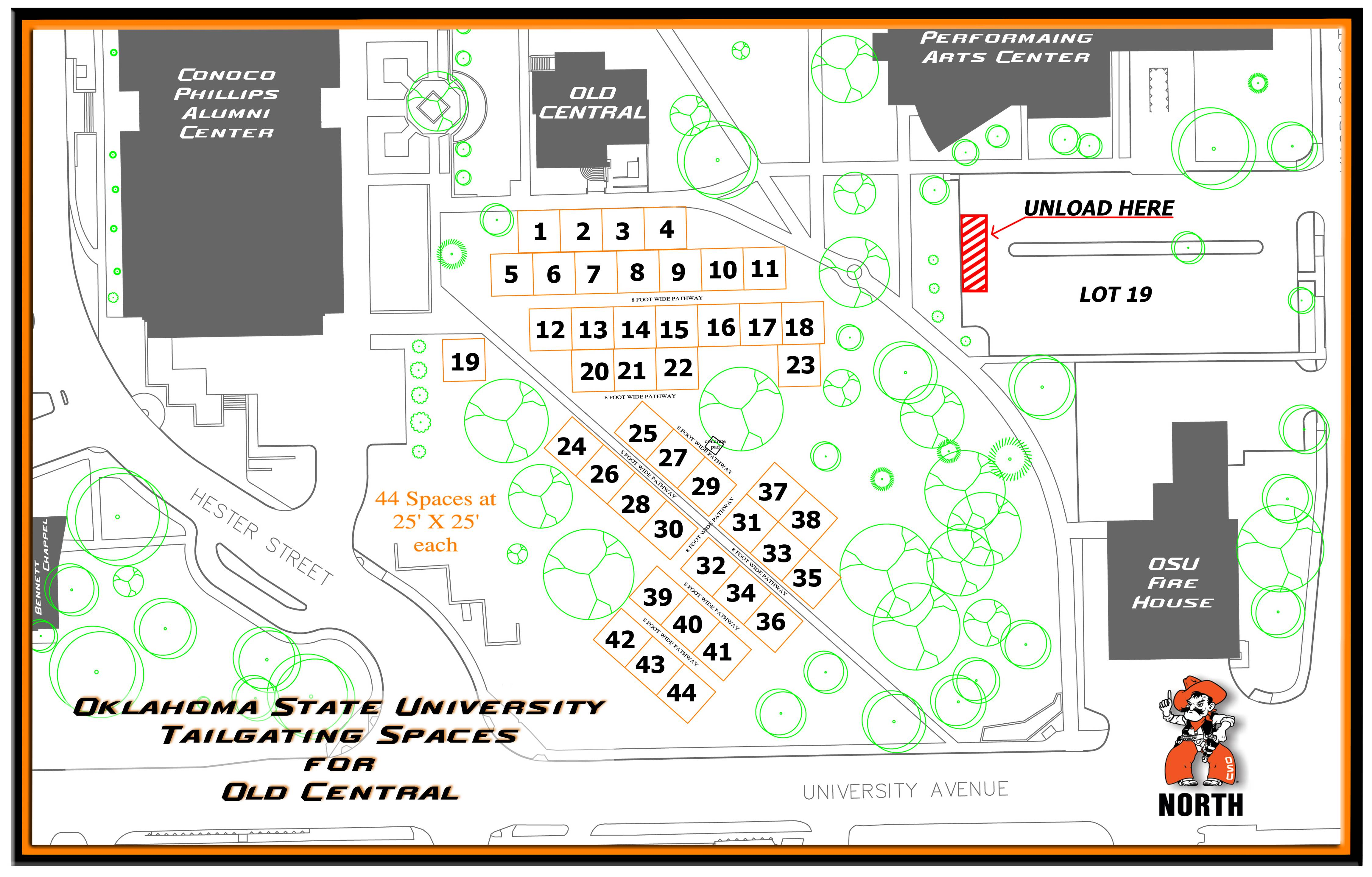 University Of Central Oklahoma Campus Map.Campus Tailgate Meeting Conference Services Oklahoma State